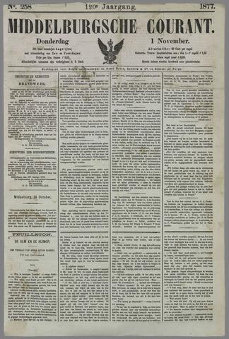Middelburgsche Courant 1877-11-01