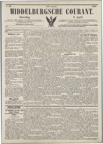 Middelburgsche Courant 1901-04-06