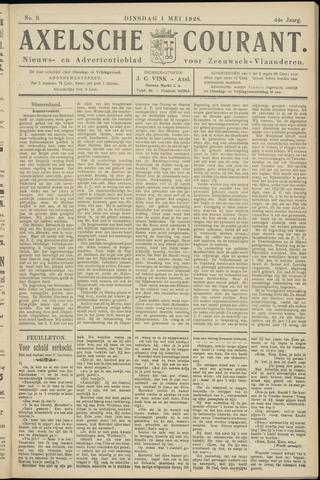 Axelsche Courant 1928-05-01
