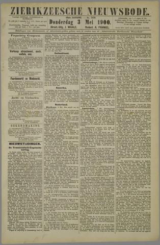 Zierikzeesche Nieuwsbode 1900-05-03
