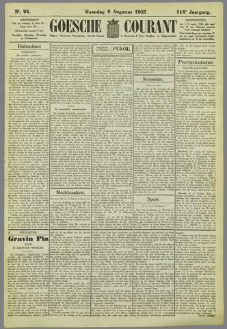 Goessche Courant 1927-08-08