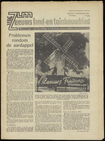 Zeeuwsch landbouwblad ... ZLM land- en tuinbouwblad 1964-09-11