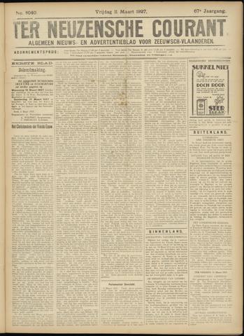 Ter Neuzensche Courant. Algemeen Nieuws- en Advertentieblad voor Zeeuwsch-Vlaanderen / Neuzensche Courant ... (idem) / (Algemeen) nieuws en advertentieblad voor Zeeuwsch-Vlaanderen 1927-03-11