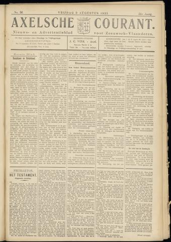 Axelsche Courant 1935-08-09