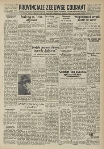 Provinciale Zeeuwse Courant 1948-07-16