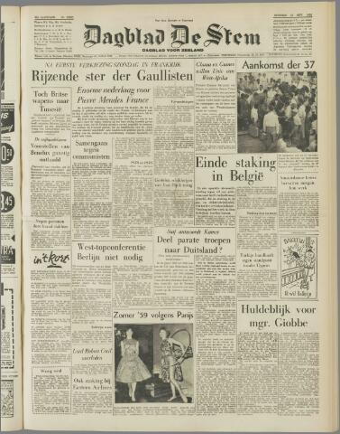 de Stem 1958-11-25