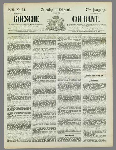 Goessche Courant 1890-02-01