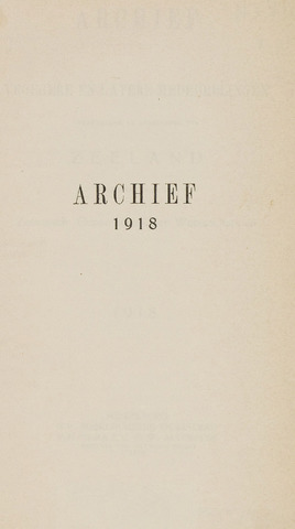 Archief 1918-01-01