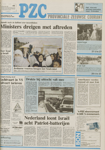 Provinciale Zeeuwse Courant 1991-02-09