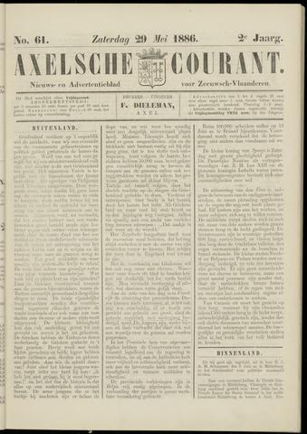 Axelsche Courant 1886-05-29