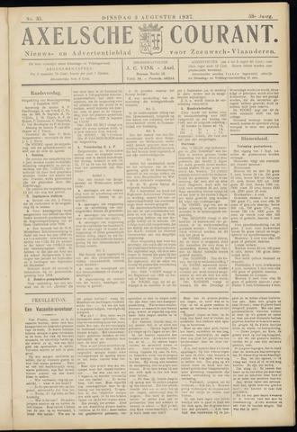 Axelsche Courant 1937-08-03