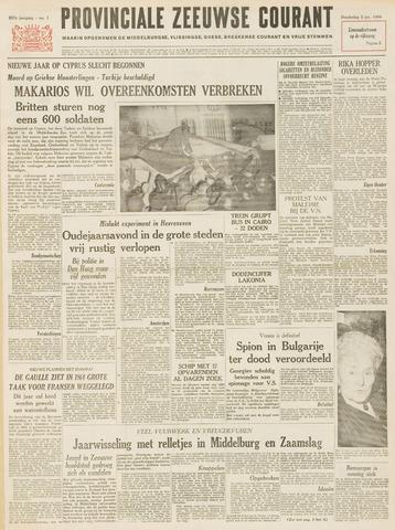 Provinciale Zeeuwse Courant 1964