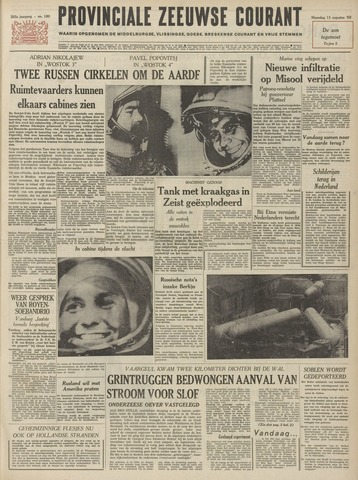 Provinciale Zeeuwse Courant 1962-08-13