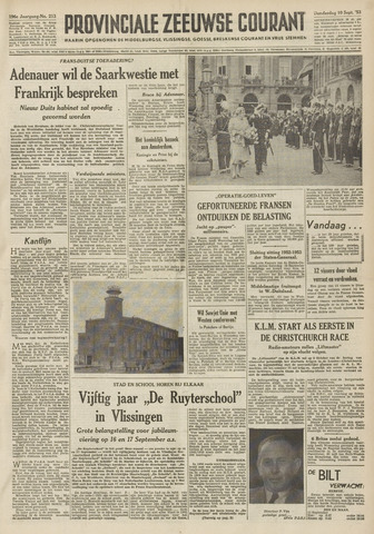 Provinciale Zeeuwse Courant 1953-09-10