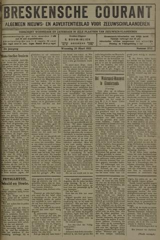 Breskensche Courant 1922-03-29