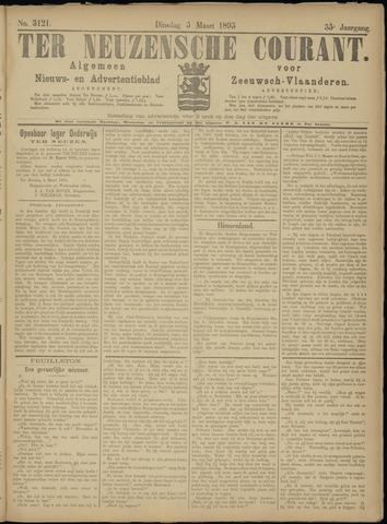 Ter Neuzensche Courant. Algemeen Nieuws- en Advertentieblad voor Zeeuwsch-Vlaanderen / Neuzensche Courant ... (idem) / (Algemeen) nieuws en advertentieblad voor Zeeuwsch-Vlaanderen 1895-03-05