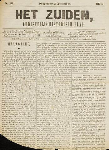 Het Zuiden, Christelijk-historisch blad 1876-11-02