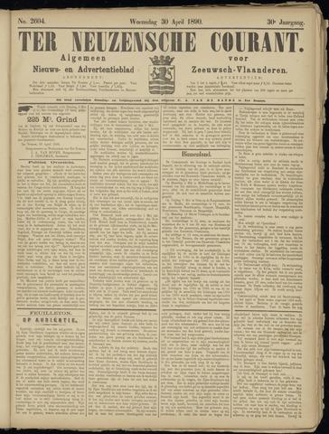 Ter Neuzensche Courant. Algemeen Nieuws- en Advertentieblad voor Zeeuwsch-Vlaanderen / Neuzensche Courant ... (idem) / (Algemeen) nieuws en advertentieblad voor Zeeuwsch-Vlaanderen 1890-04-30