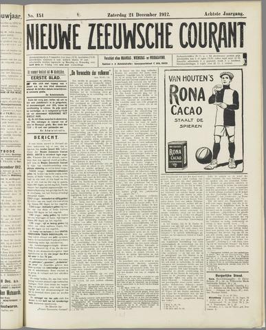 Nieuwe Zeeuwsche Courant 1912-12-21