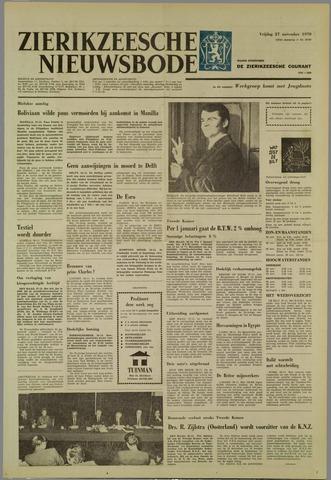 Zierikzeesche Nieuwsbode 1970-11-27