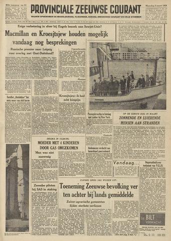 Provinciale Zeeuwse Courant 1959-03-02