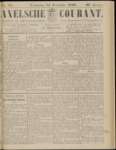 Axelsche Courant 1910-12-14