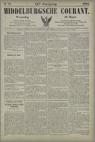Middelburgsche Courant 1884-03-26