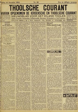 Ierseksche en Thoolsche Courant 1934-12-14