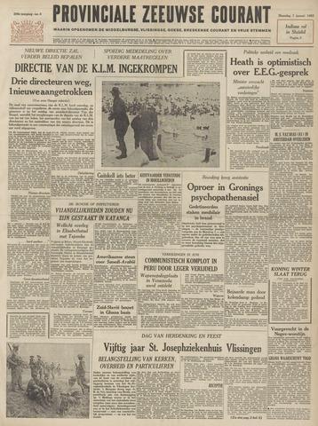 Provinciale Zeeuwse Courant 1963-01-07