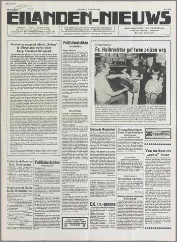 Eilanden-nieuws. Christelijk streekblad op gereformeerde grondslag 1985-08-13