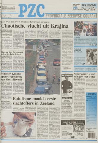 Provinciale Zeeuwse Courant 1995-08-08