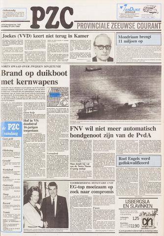 Provinciale Zeeuwse Courant 1989-06-27