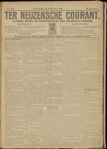 Ter Neuzensche Courant. Algemeen Nieuws- en Advertentieblad voor Zeeuwsch-Vlaanderen / Neuzensche Courant ... (idem) / (Algemeen) nieuws en advertentieblad voor Zeeuwsch-Vlaanderen 1915-12-23