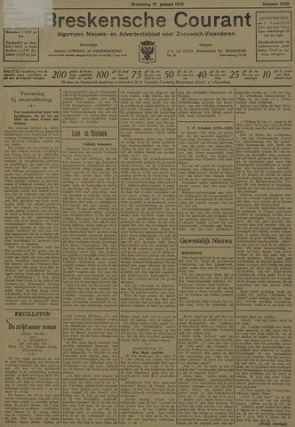 Breskensche Courant 1932-01-27