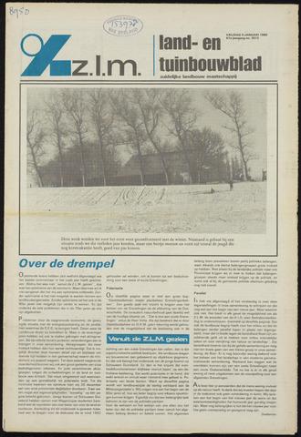 Zeeuwsch landbouwblad ... ZLM land- en tuinbouwblad 1980