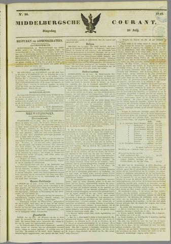 Middelburgsche Courant 1846-07-28