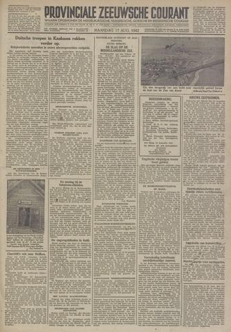 Provinciale Zeeuwse Courant 1942-08-17