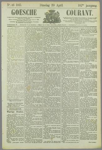 Goessche Courant 1915-04-20