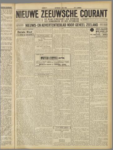 Nieuwe Zeeuwsche Courant 1933-07-01