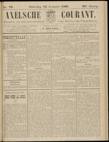 Axelsche Courant 1907-01-12