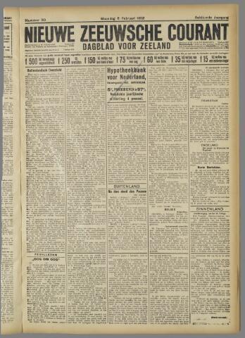Nieuwe Zeeuwsche Courant 1922-02-06
