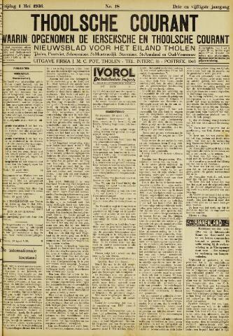 Ierseksche en Thoolsche Courant 1936-05-01