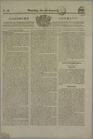 Goessche Courant 1842-01-10