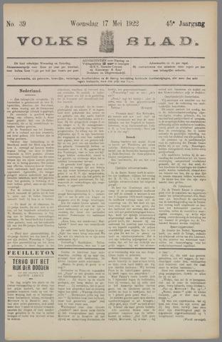 Volksblad 1922-05-17