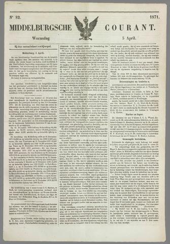 Middelburgsche Courant 1871-04-05
