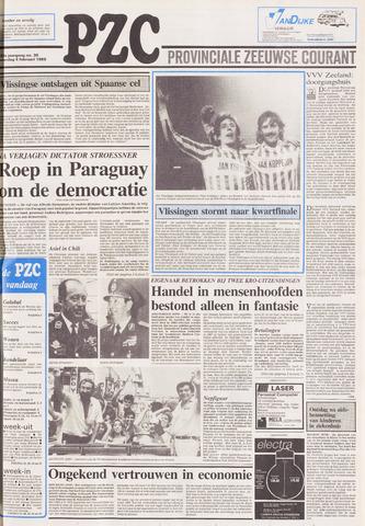 Provinciale Zeeuwse Courant 1989-02-04