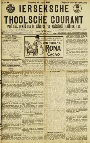 Ierseksche en Thoolsche Courant 1913-04-19