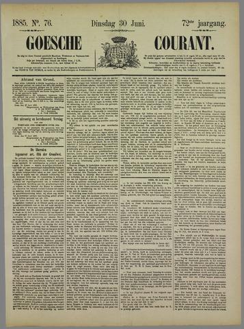 Goessche Courant 1885-06-30