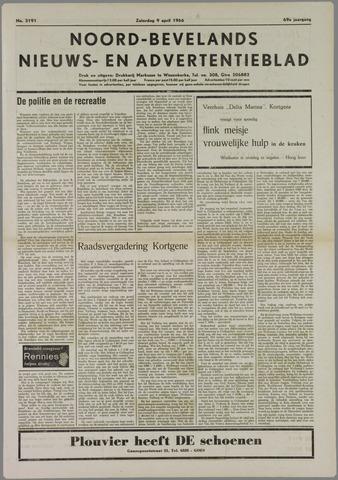 Noord-Bevelands Nieuws- en advertentieblad 1966-04-09