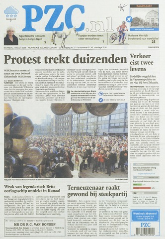 Provinciale Zeeuwse Courant 2009-02-02